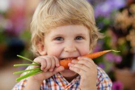 comer para crecer