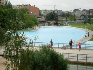 Parc de Vallparadís piscina