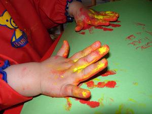 manualidades para hacer con niños de 2 años