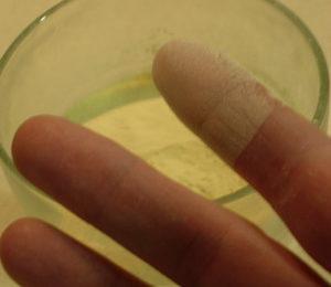 esporas de licopodio