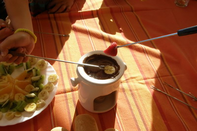 fondue de xocolata