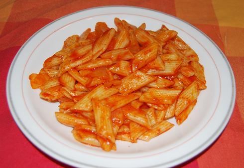 macarrones con cebolla y azúcar