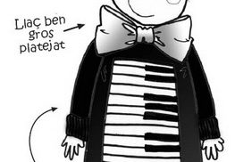 disfraz de piano