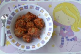 albóndigas con tomate