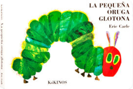 la pequeña oruga glotona