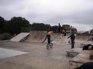 skateparc en sabadell