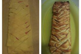 trena de formatge i pernil dolç