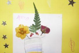 flors premsades