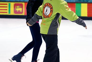 patinar-sobre-hielo-con-nños