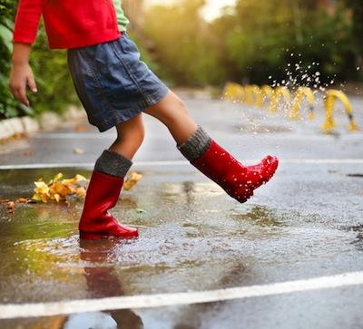 jugamos con la lluvia