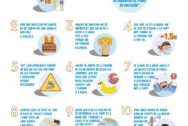 10 medidas de seguridad en la piscina