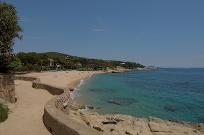 camí de ronda de platja d'Aro
