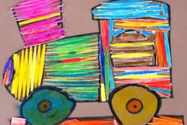 arte con palillos