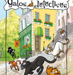 gatos detectives