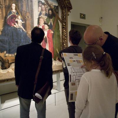 TALLERES FAMILIARES EN EL MUSEU NACIONAL D'ART DE CATALUNYA