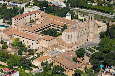Monasterio de Pedralbes en familia