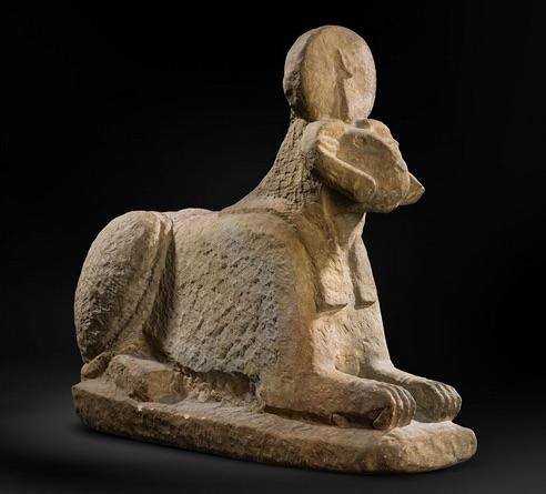amb nens al museu egipci de barcelona