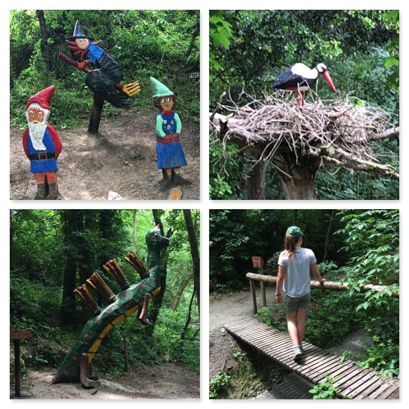 Bosc encantat de Gurb amb nens