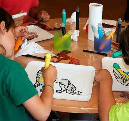 museo episcopal con niños