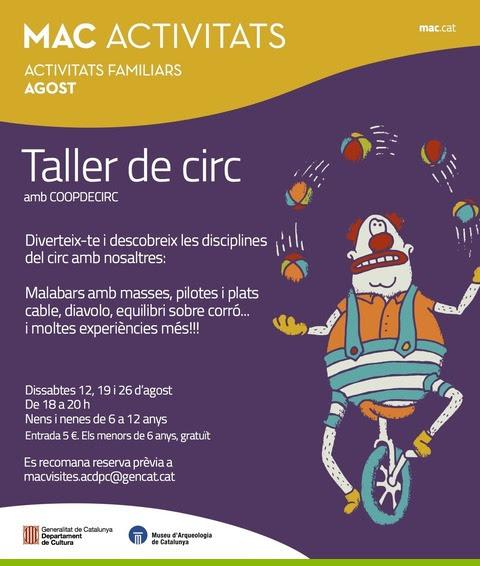 Museu d'Arqueologia de Catalunya amb nens