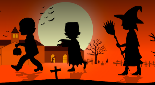 Halloween al Poble Espanyol