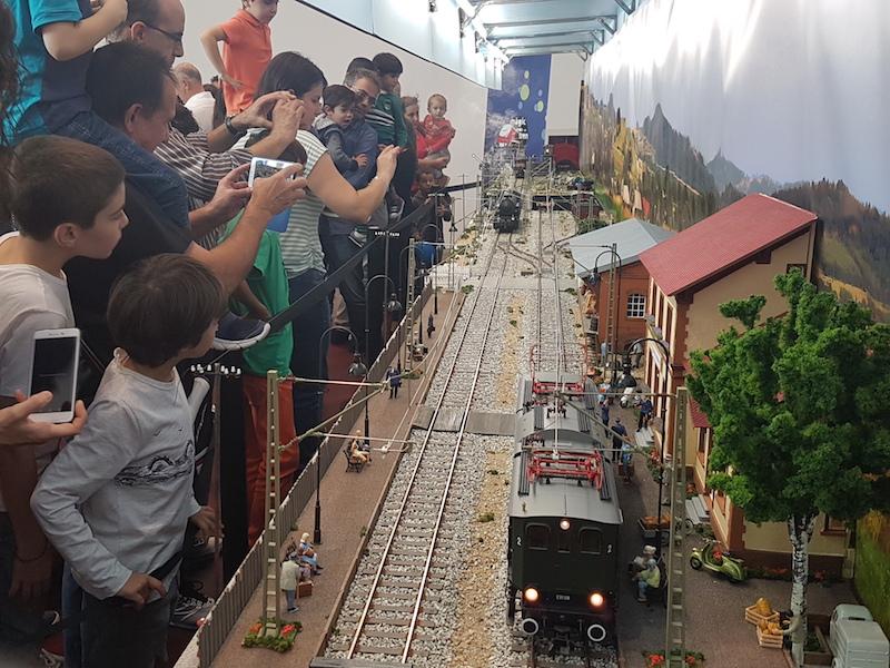 fira ferroviària a Mataró