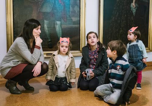 NADAL AMB NENS ALS MUSEUS DE GIRONA