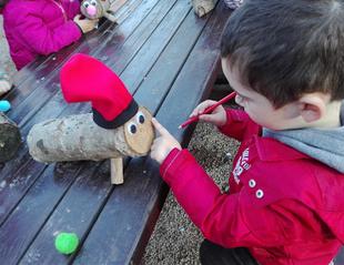 Navidad con niños en Granja Natura