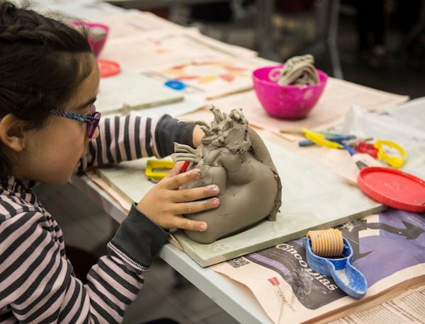 talleres para niños en el Museu del Disseny