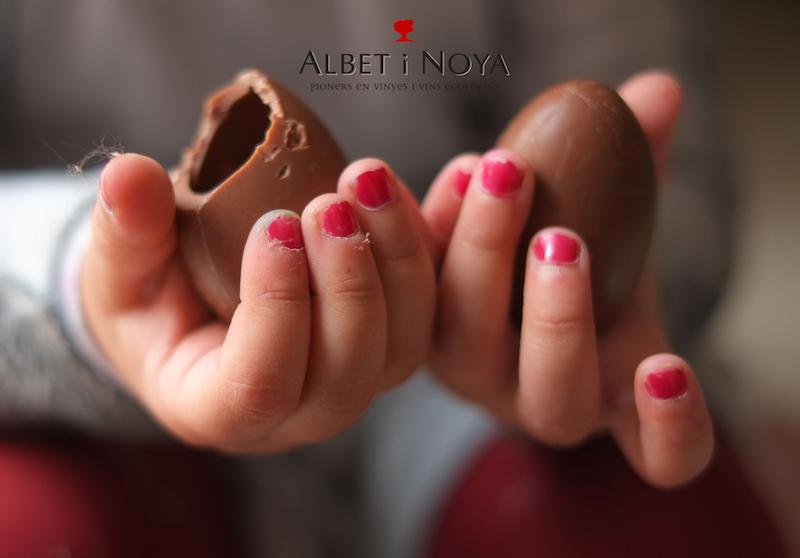Taller infantil de Pasqua al celler Albet i Noya