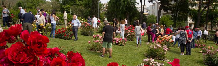 concurso Internacional de Rosas Nuevas de Barcelona