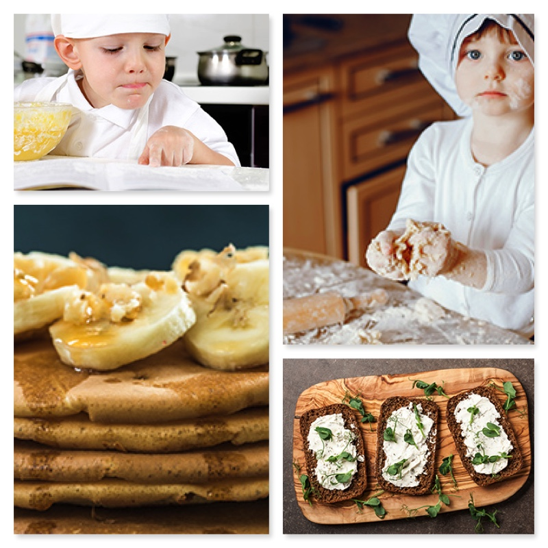 Fiesta de la cocina sana, fácil y divertida