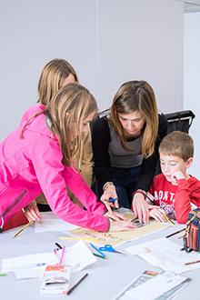 tallers familiars al museu picasso