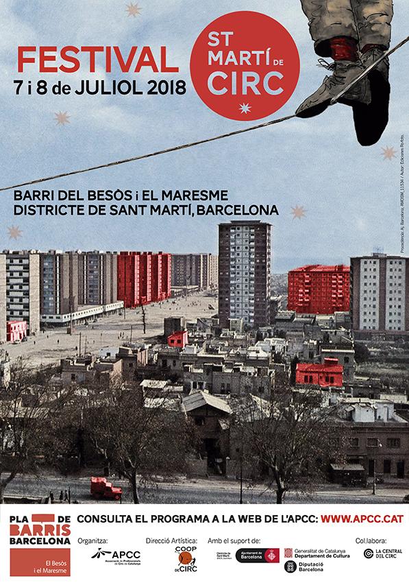 sant martí de circ en barcelona