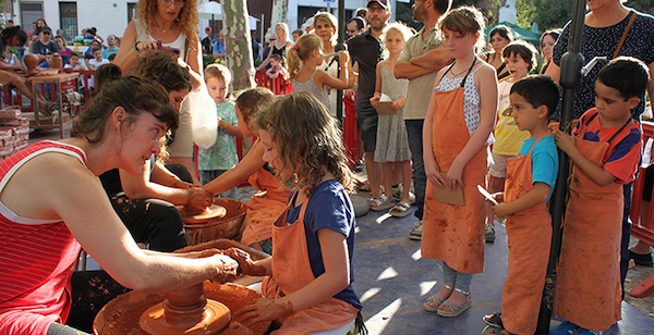 feria de la cerámica en argentona
