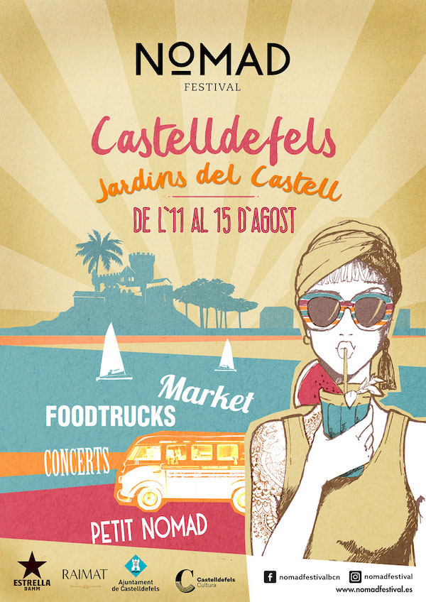 NOMAD FESTIVAL a CASTELLDEFELS