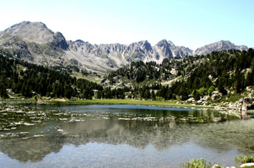 llacs per anar amb nens a andorra
