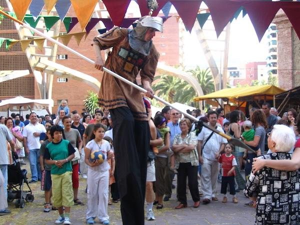 fira medieval al poble espanyol