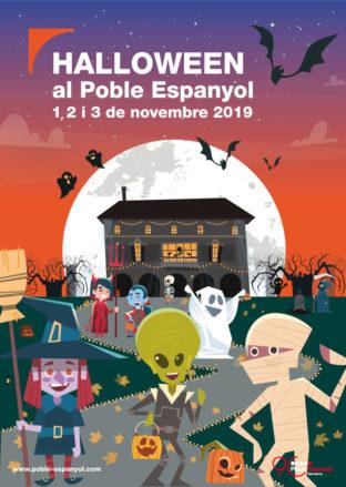 HALLOWEEN EN EL POBLE ESPANYOL