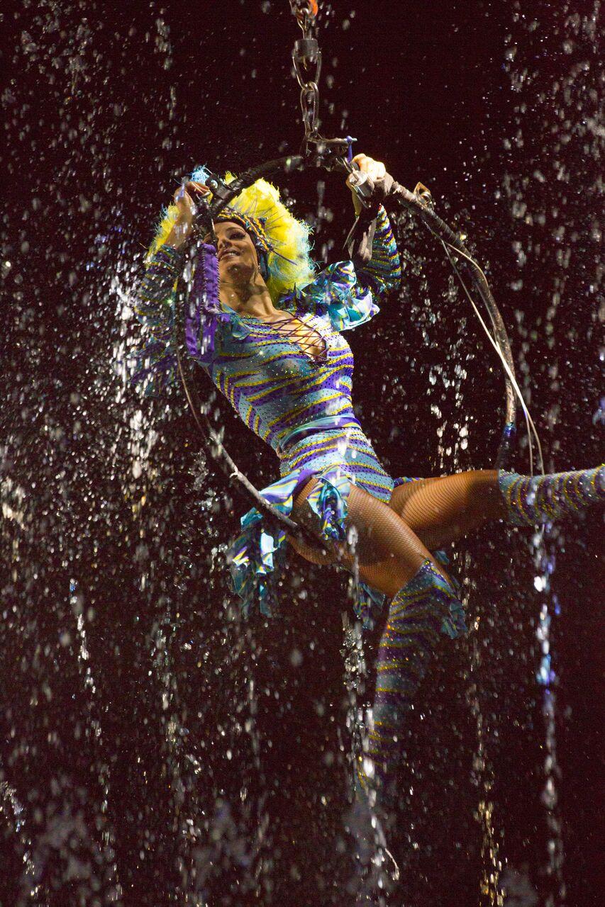 circo sobre agua