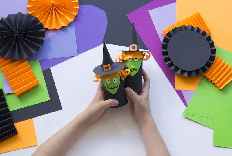 manualitats halloween amb nens