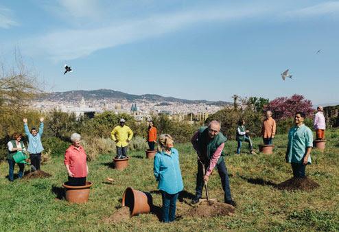 planta't al jardí botànic de barcelona