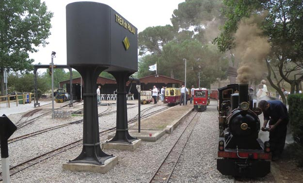 Trenets per anar amb nens a Catalunya