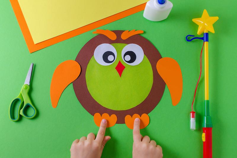manualidades para hacer búhos con niños