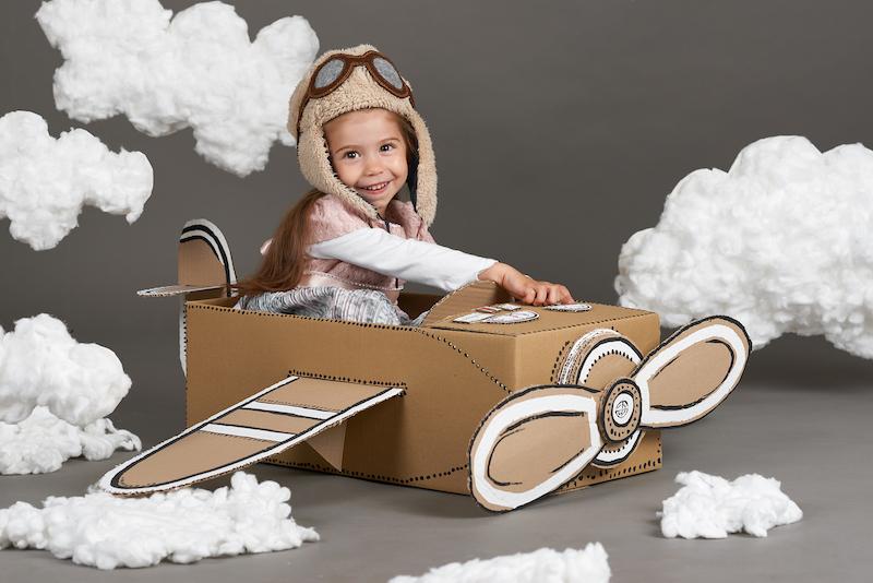 Manualidades para hacer con niños con cajas de carton
