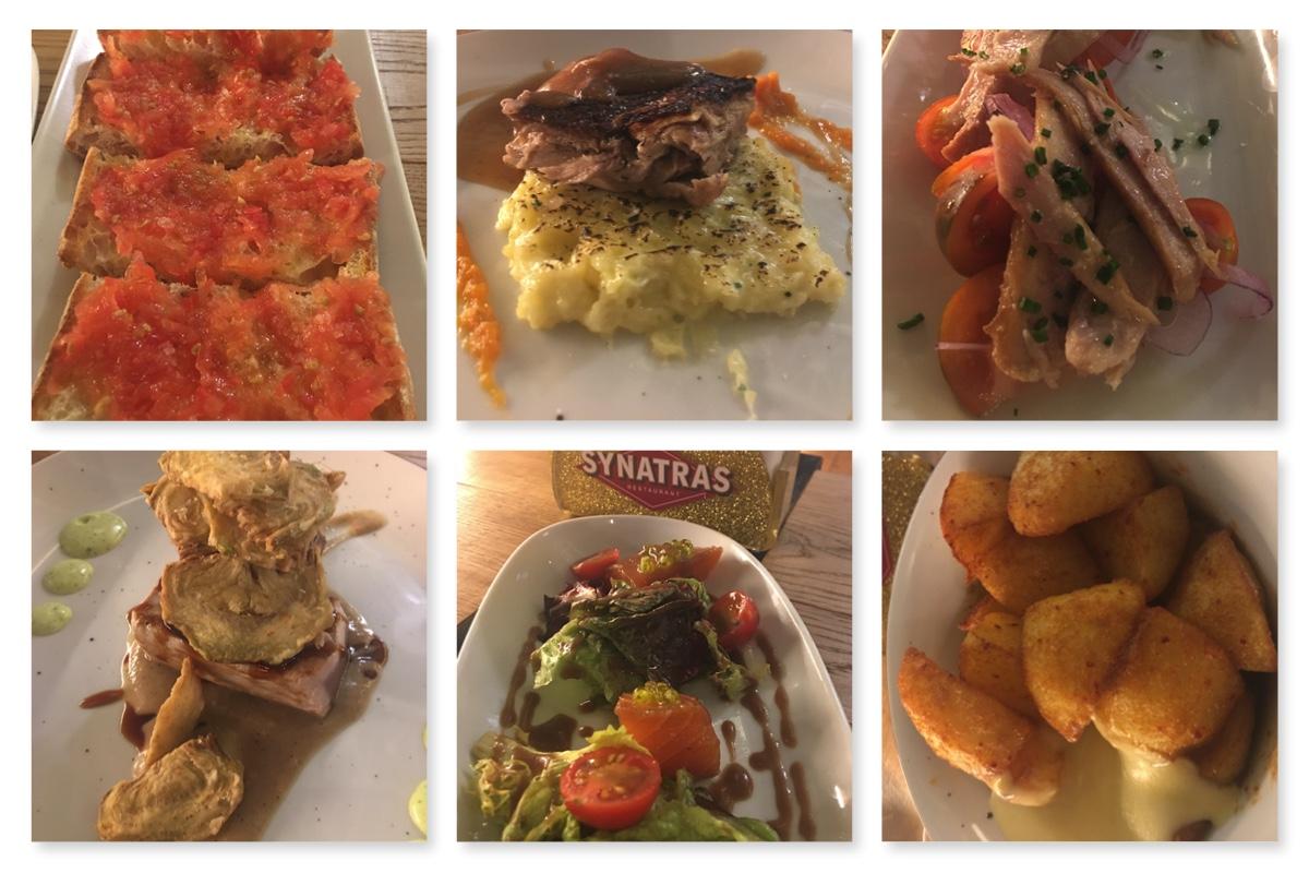 restaurant synatras a barcelona