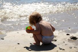 seguridad infantil en la playa