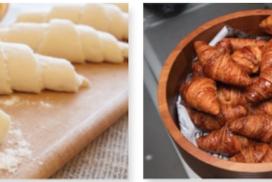 croissants dolços i salats