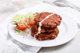 hamburguesa vegana casolana