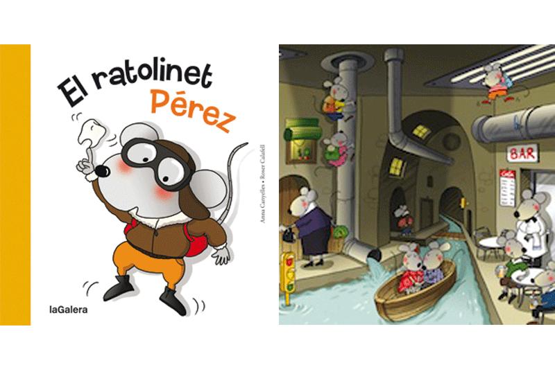 LLIBRES PER A NENS SOBRE EL RATOLINET PÉREZ